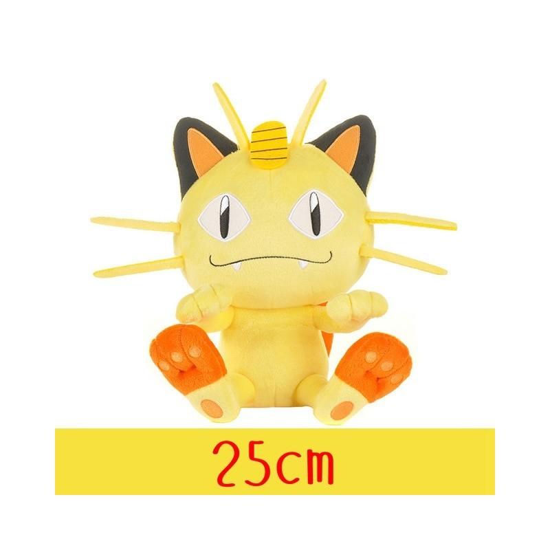 Peluche pokémon miaouss 25 cm