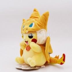 peluche pikachu cosplay dracaufeu