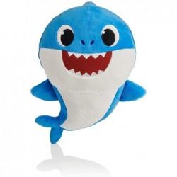 Peluche baby shark dance bleu