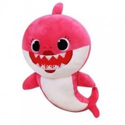 Peluche baby shark song rose