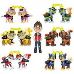 Lot de 7 figurines pat' patrouille avec outil articulé