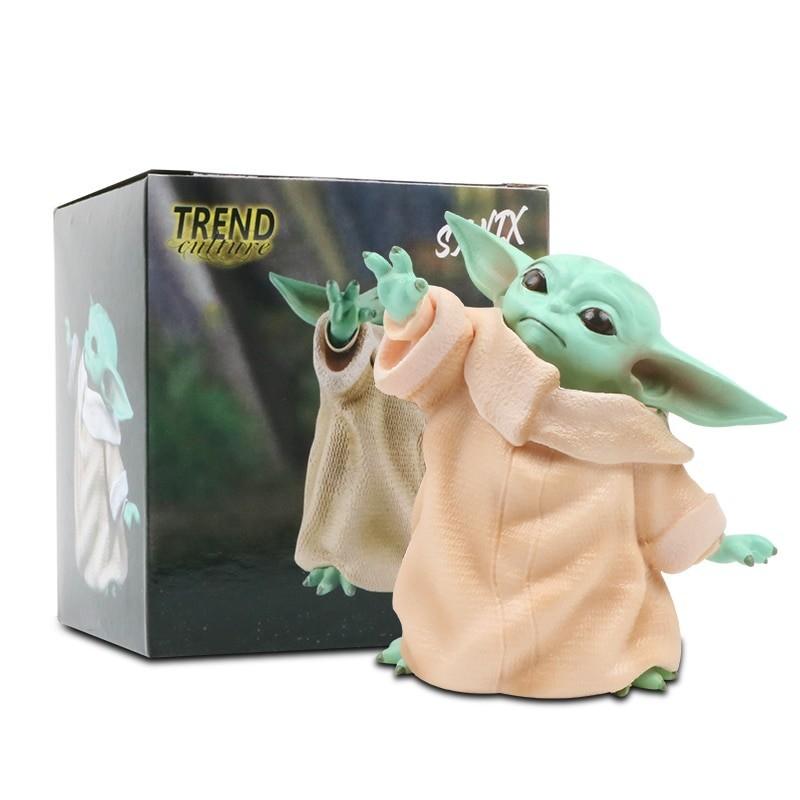 Figurine Grogu bébé yoda star wars 8cm