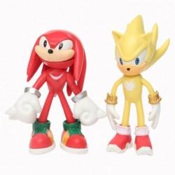figurine sonic jaune et rouge 12 cm