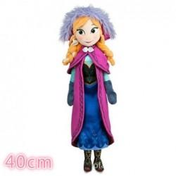 Peluche reine des neiges anna 40 cm
