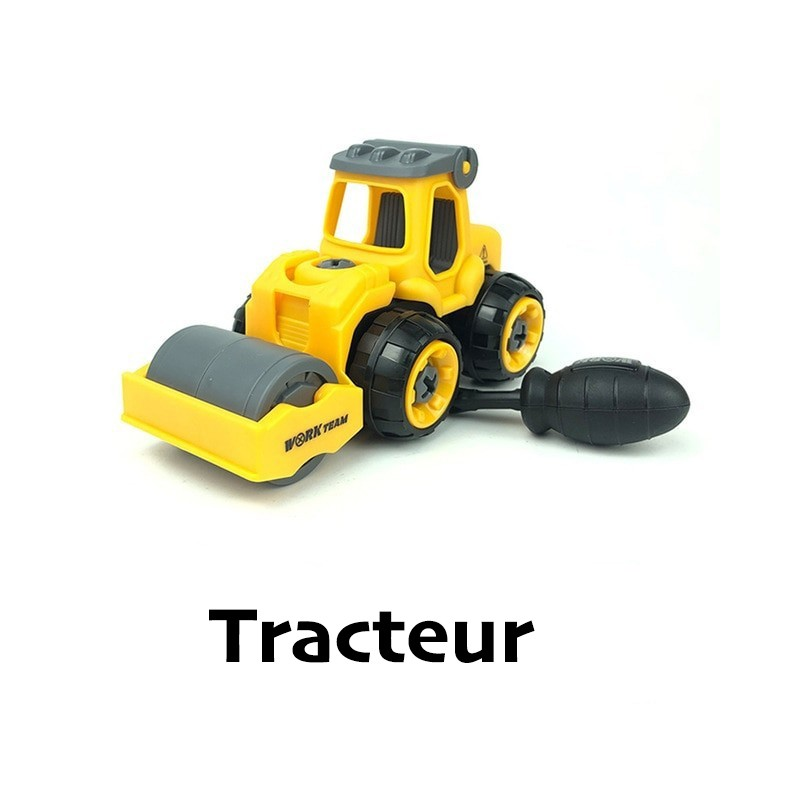 jouet puzzle ludique tracteur