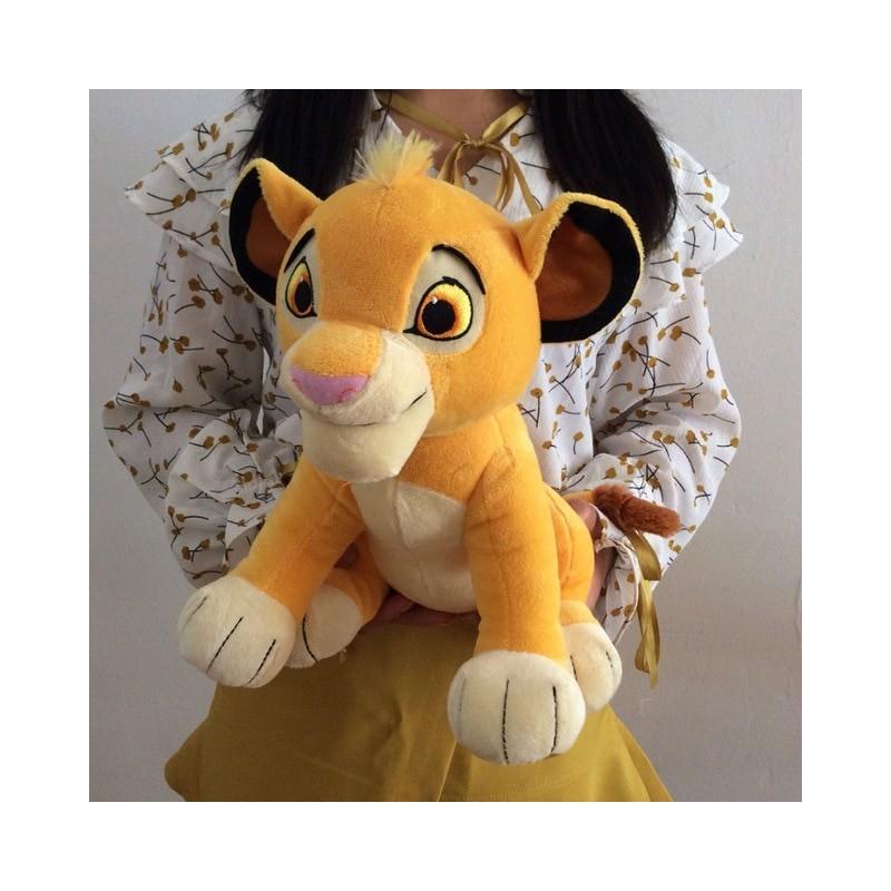 Peluche Simba ou Nala 30 cm le roi lion