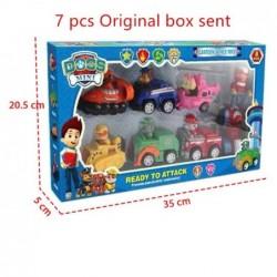 lot de 7 figurines pat'patrouilles avec boîte