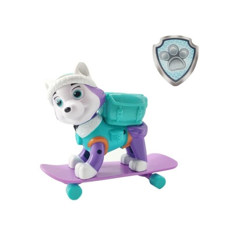 Figurine pat patrouille everest skate