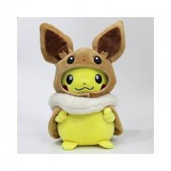 Peluche pikachu cosplay evoli