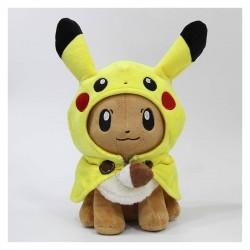 Peluche evoli cosplay pikachu