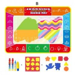 tapis dessin crayon magique