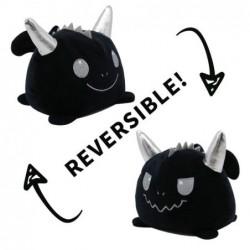 peluche réversible démon noir