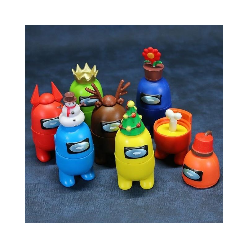 lot de figurines among us
