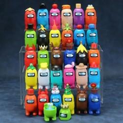 amongus figurine lot