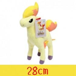 Peluche pokémon ponyta 28 cm