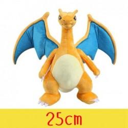 Peluche pokémon dracofeu 25 cm